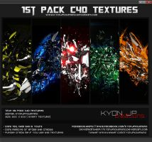 1st C4D TEXTURE PACK by kyon Jp Tolentino by kyonjptolentino