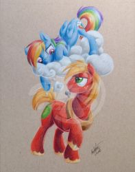 Apples and Clouds by Zene