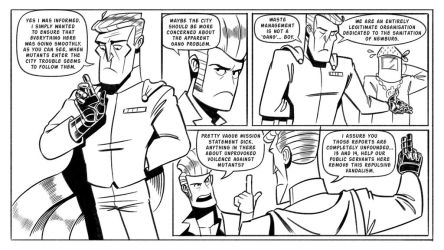 Booger and the Losers: Graffiti Pg10 by StickDinosaur