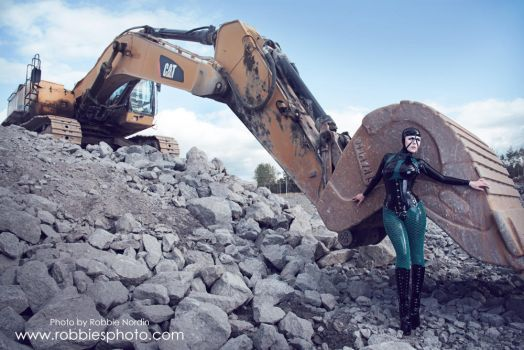 Latex excavation III by FuchsiaG