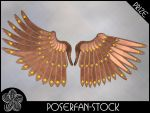 Metal Wings 003 Bronze by poserfan-stock