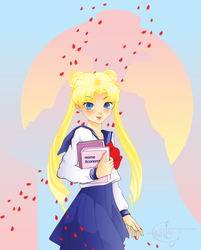 Sailor Moon by Vashtastic