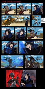 Time Share Conflicts by Dendraica