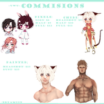 Commisions Infos by SERA-P