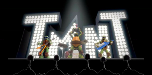 TMNT 2012 Ice Cream Kitty Music Video FINALLY HERE by pacosanchez123
