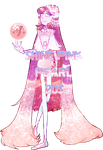 Shine Pink Pearl(closed) by MeruRei