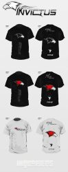Team-Invictus - Clan Shirts by h1xndesign