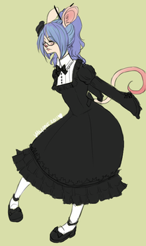 Lolita mousey Val by Zoinkles