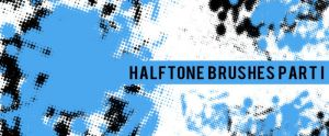 Photoshop Halftone Brushes by sdwhaven
