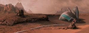 Mars 2084 by Chris-Law