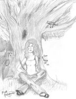 Willow Tree Girl by Renza