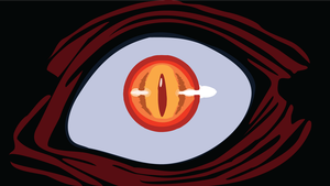 Alucard Eye Vector by Cosmicmoonshine