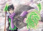 Gift: Mori_Green Rose by RfourRfive