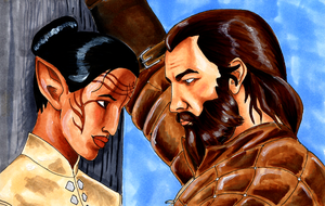 Blackwall and Mirevas by SignCherie