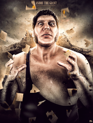 Andre The Giant Poster by workoutf