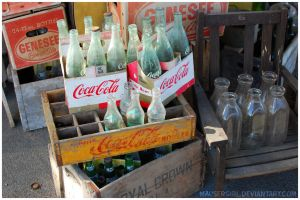 Constableville, NY - Empty Bottles by MauserGirl