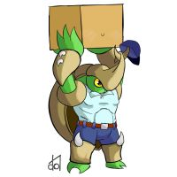 Rivals of Aether- Mailman Kragg by dramateen01
