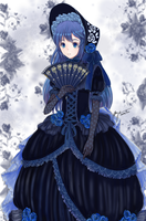 Lucina in a gothic dress by madisoncamellia