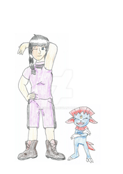 Pokemon OC: Wyonna and Weavile REBOOT by Boo-mite