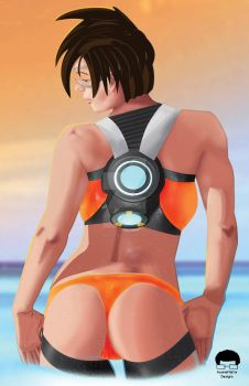 Bootywatch - Tracer by AyaneMatrix