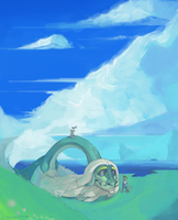 Drampa on the Hills