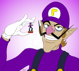 Waluigi Month Day 2 - The joy of fatherhood by Sekhmet17