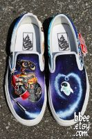 Wall-E Shoes by BBEEshoes