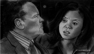 Person of Interest: Carter and Fusco at Midnight by GalleyArts