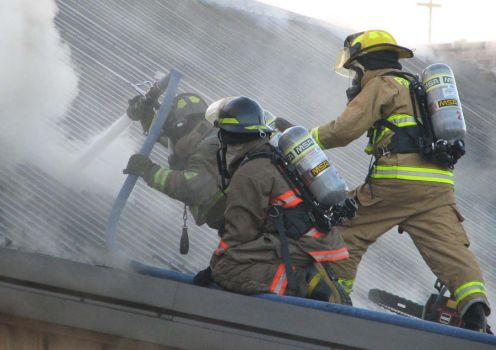 Jay County Firefighters by SteveGarbage