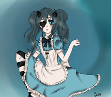 Lady Ciel in Wonderland by Inesu-Tan