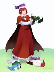Commission - Yumemi and her sukusukus by TomomiChan1