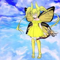 Tried to make Star in her ultimate butterfly form by Blaria95