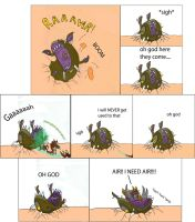 nydus Worms bad day by Dread555