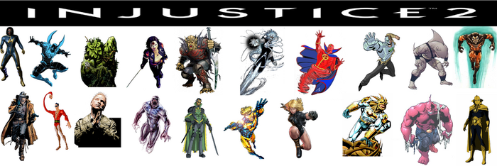 Injustice 2 top of my head by Salvy35z