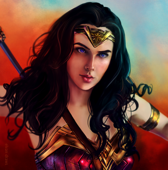 Wonder Woman Day by AresNeron