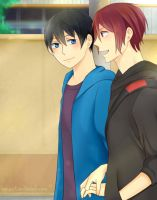 RinxHaru - Stay with me by Pleionne