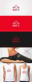 MapleFit Logo by DianaGyms