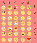 Emoji Request thing (updated) by TropicaIDeer
