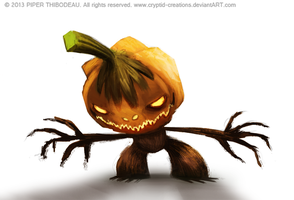 DAY 346. Jack O' Laturn by Cryptid-Creations