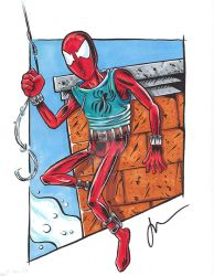 Scarlet SPider by melies