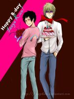 Happy Birthday Izaya Kun! by alisonjohnsonfox
