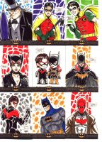 Batman: The Legend Sketch Cards 7 by OptimusPraino