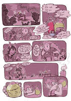 DnD Comic - Three Visions, Page 1 by oddsocket