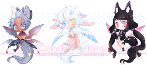 Wingupuff Auction - Rumcandy Collab 1 - CLOSED by MamuEmu