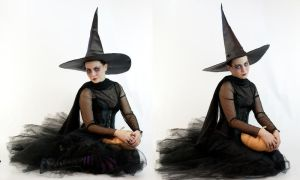 witchy pumpkins by magikstock