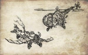 Air Transportation Devices by Van-Oost