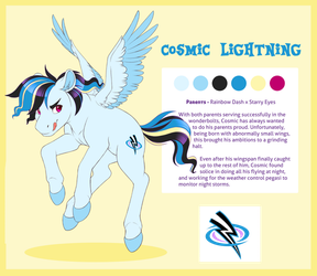 Ref - Cosmic Lightning by PeridotKitty