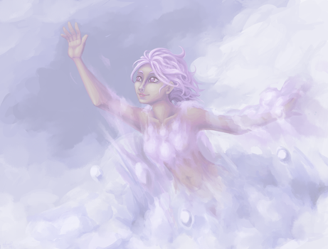 DDC - Cloud lady by ZephyrXenonymous