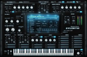 Sylenth VST gui design by ScottKaneGUIs