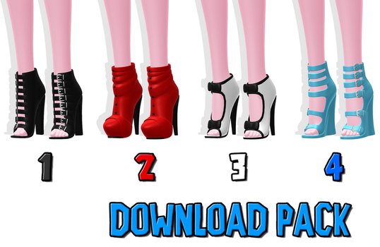 DOWNLOAD: Shoe Pack 2 by DisastrousBunny